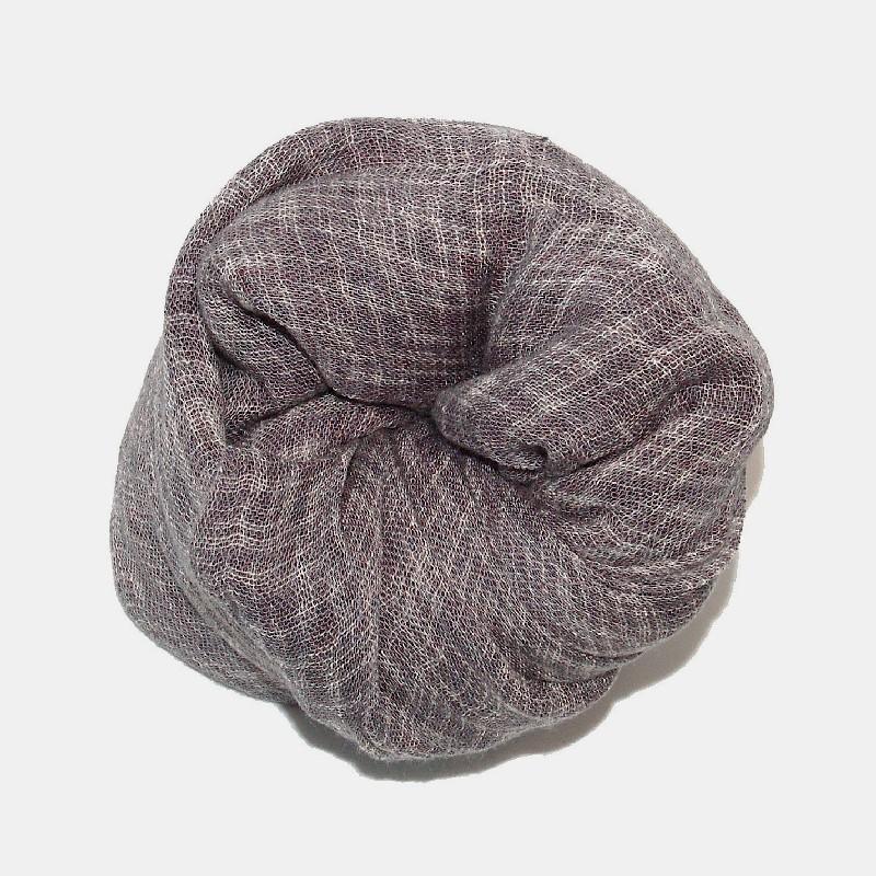Line sjal grå