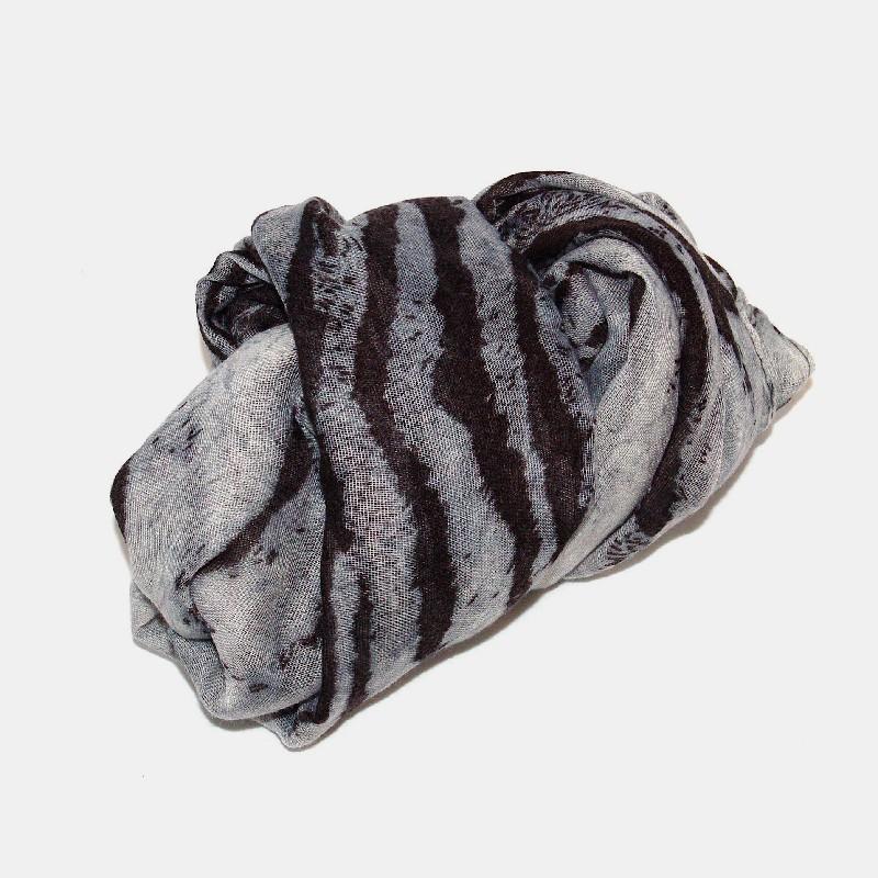 Stina sjal grå