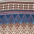 Inka sjal brun