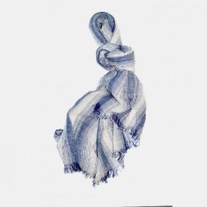 San Fransisco sjal blå