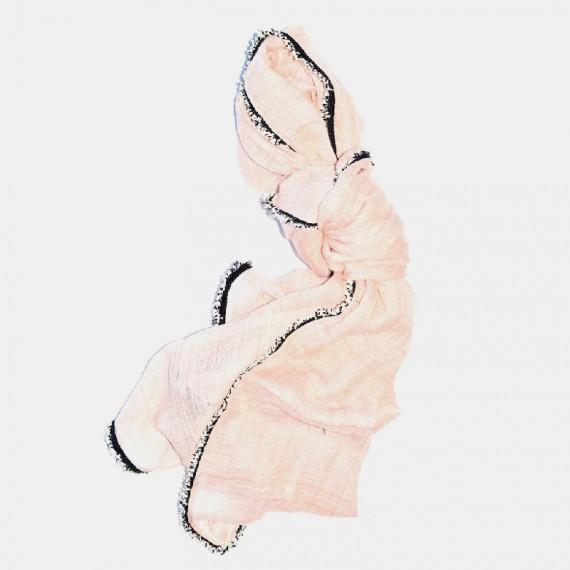 Nice sjal rosa