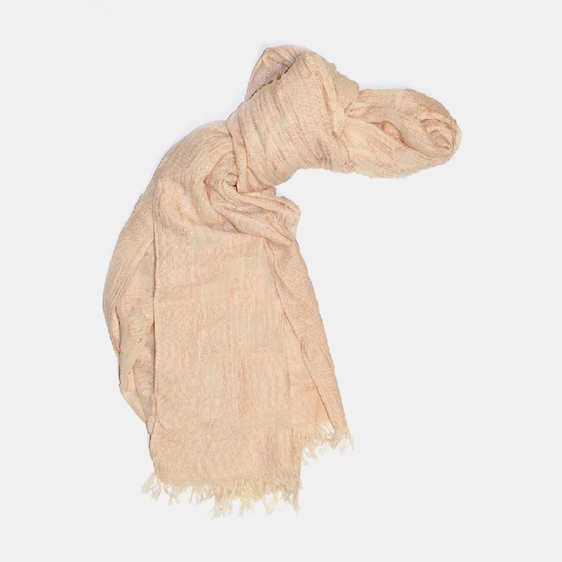 Split sjal rosa