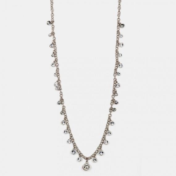 Swarovski halsband silver