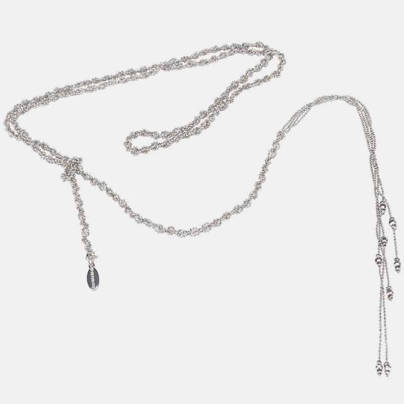 Bilbao Halsband Silver