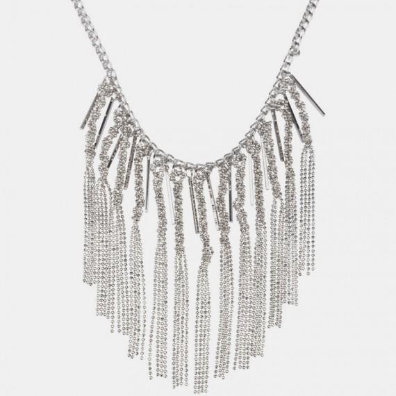 Badalona Halsband Silver