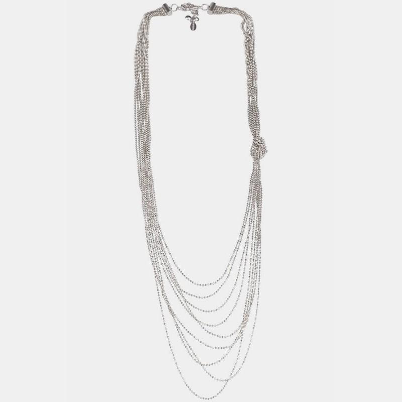Basauri Halsband Silver