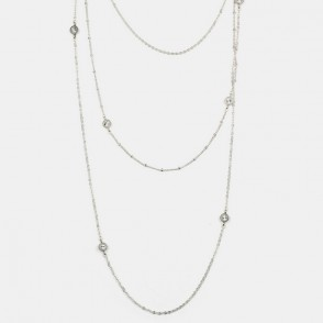 Delicias Halsband Silver