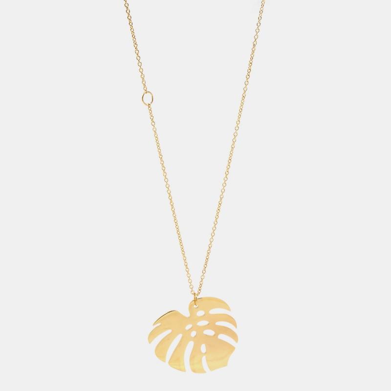 Delhi Halsband 90cm Guld