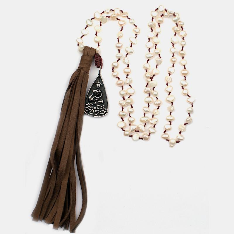 Hatha Halsband Vit