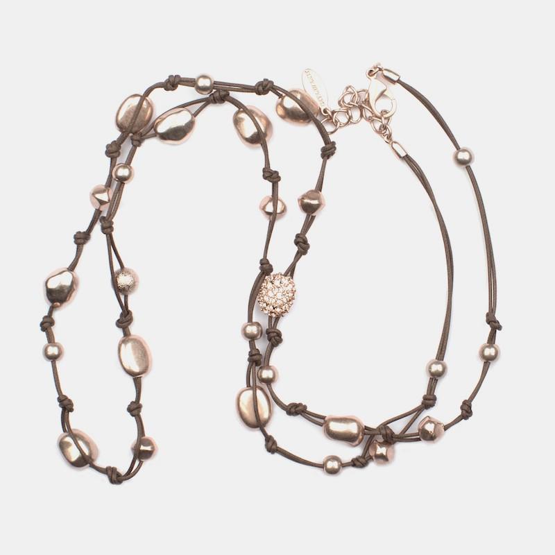 Bangalore Halsband Brun