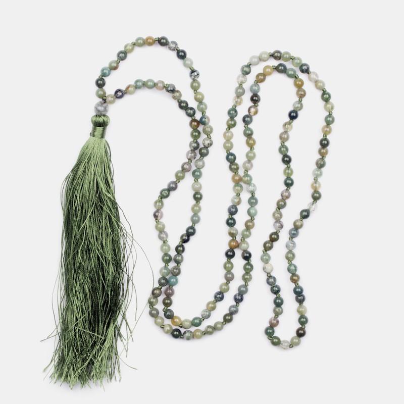 Ujjayi Halsband Grön
