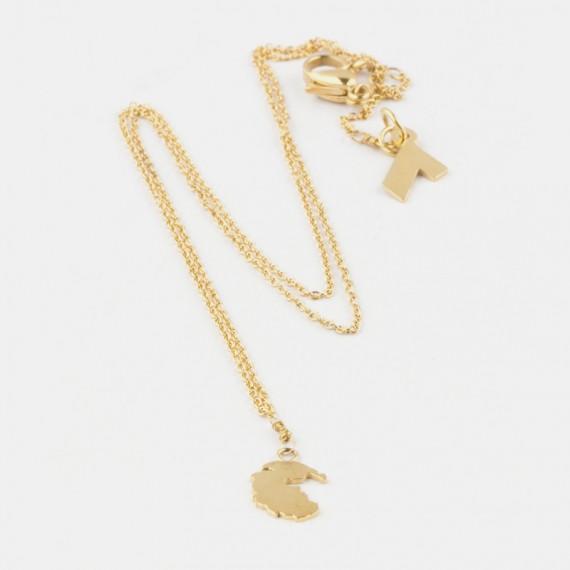 Pangea Halsband Guld
