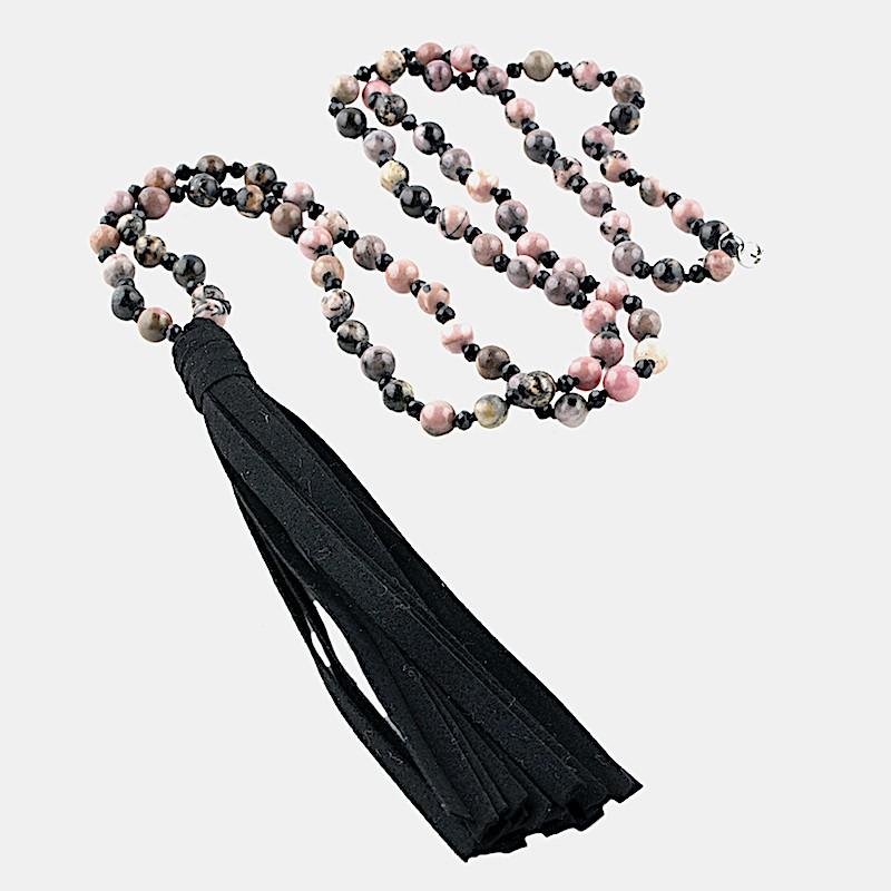 Yama Halsband Rosa