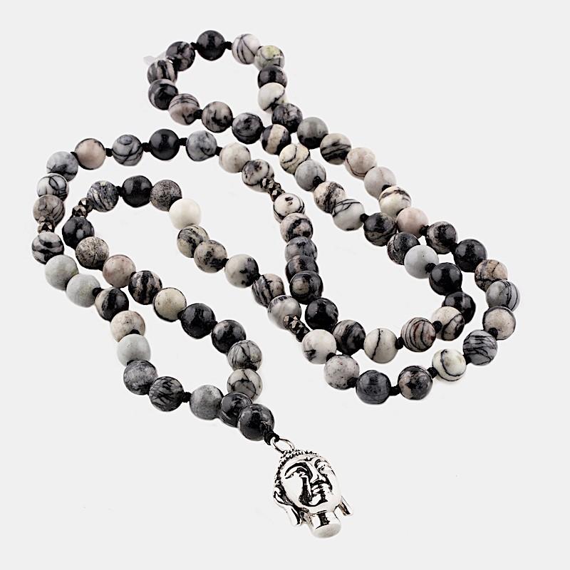 Buddha Halsband Svart
