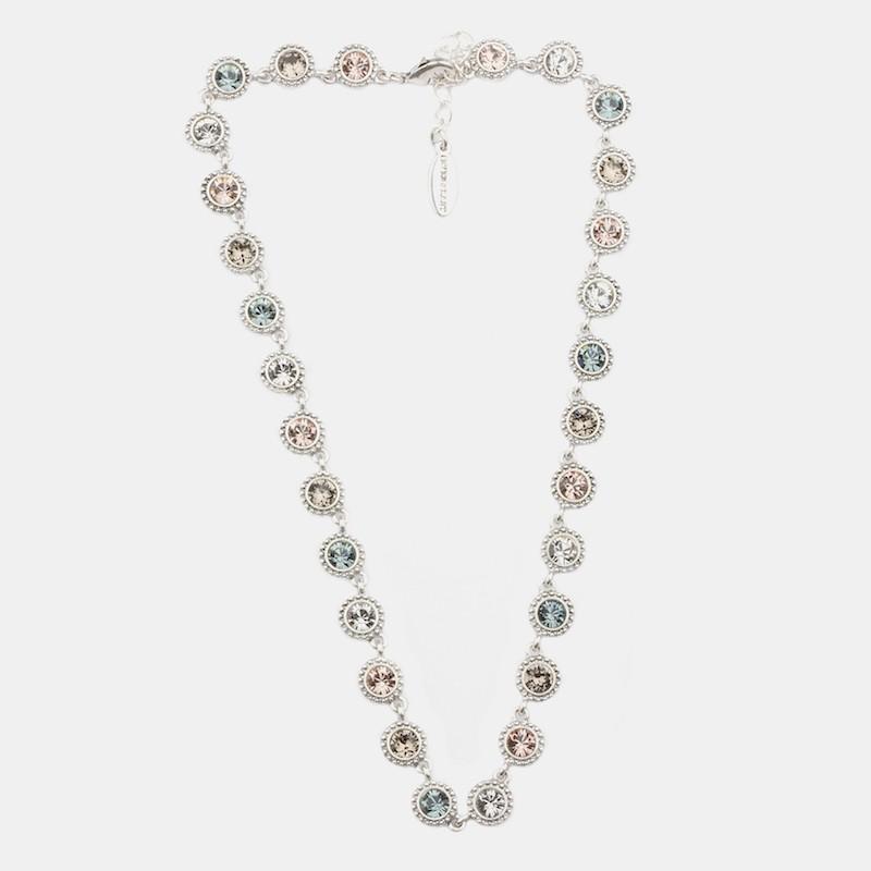 Gala Halsband 42cm Silver