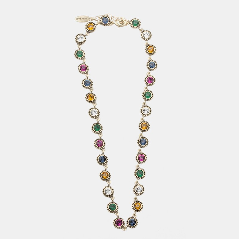 Gala Halsband 42cm Guld