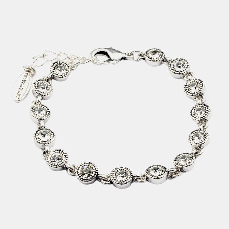 Glam Armband Silver