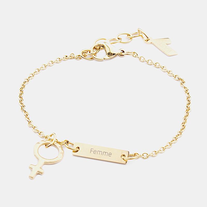 Femme Armband Guld