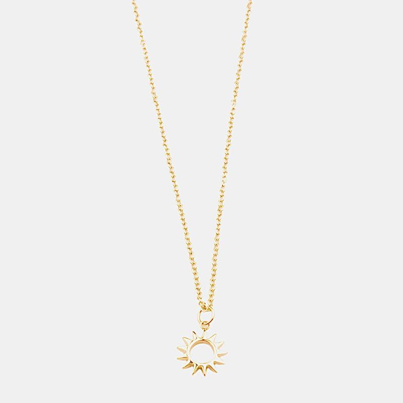 Sun Halsband 42cm Guld
