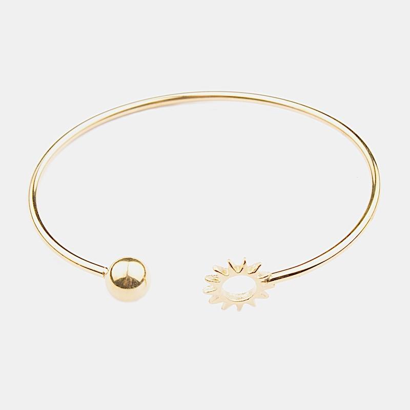 Sun Armband Guld