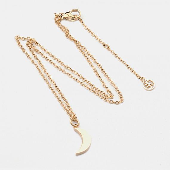 Moon Halsband 42cm Guld