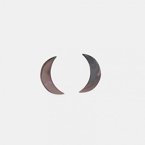 Moon Örhänge Stål