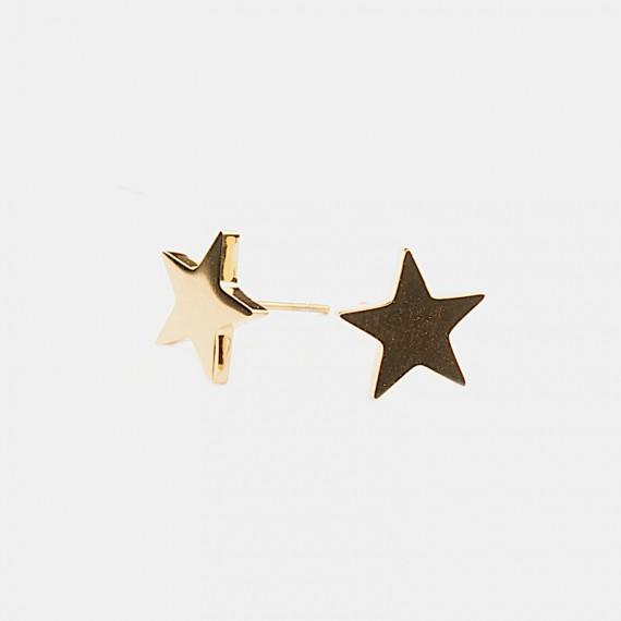 Star Örhänge Guld
