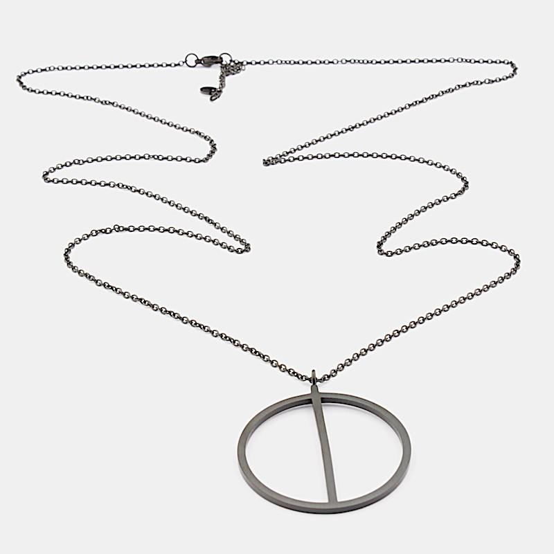 Genoa Halsband 90cm Black