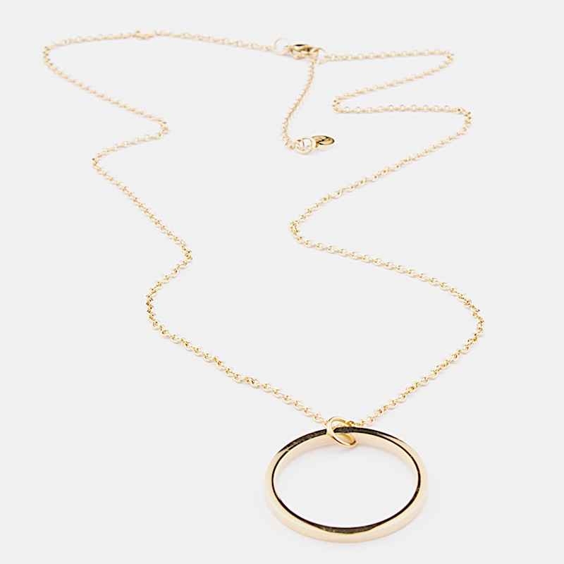 Florence Halsband 60cm Guld