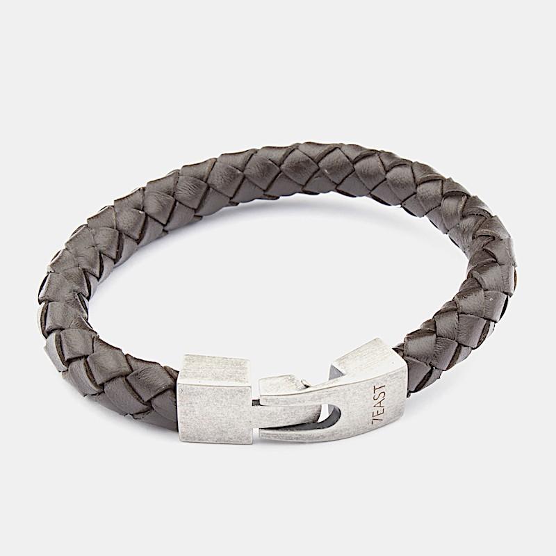 Jaipur Armband Mörkbrun