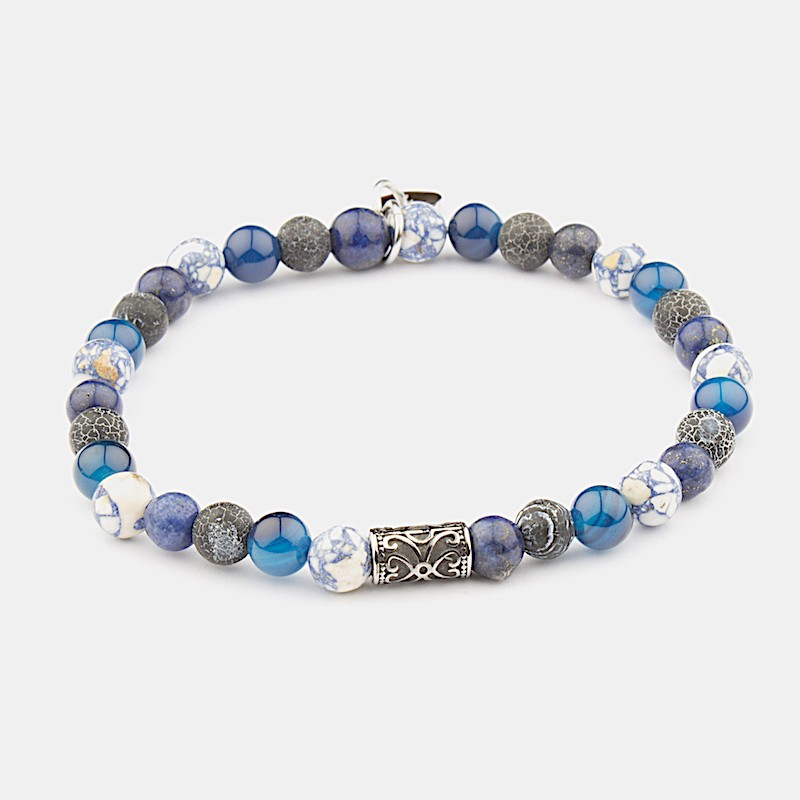 Sorrento Armband Blå