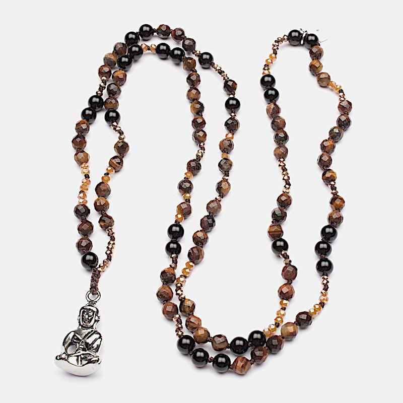 Namaste Halsband 90cm Röd