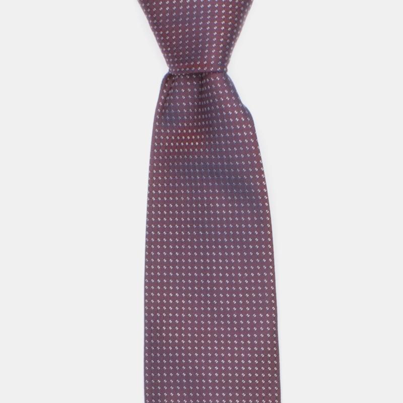 Smögen slips vinröd