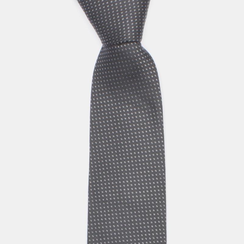 Smögen slips mörkgrå