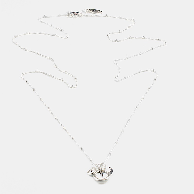 Shine Halsband 80cm Silver