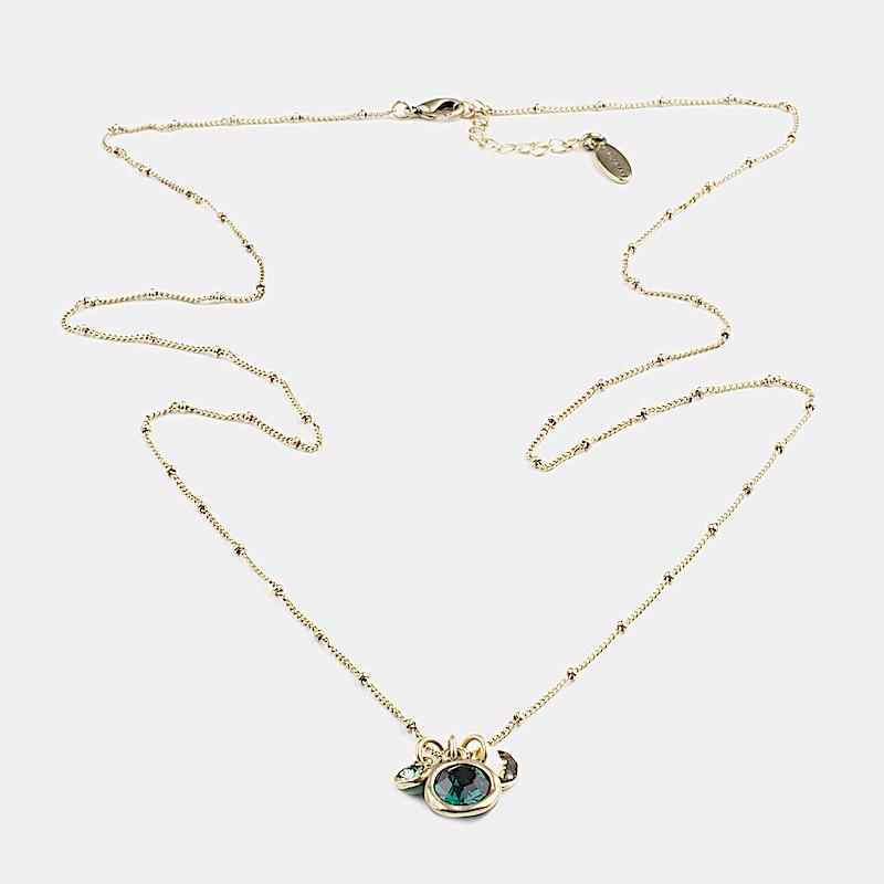 Shine Halsband 80cm Guld