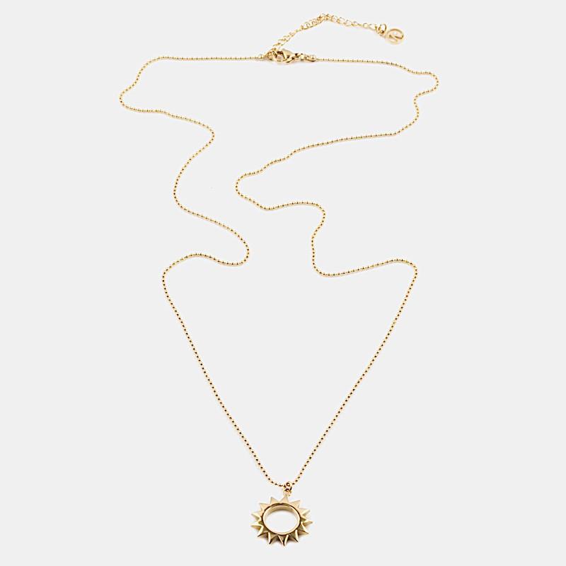 Yang Halsband 60cm Guld