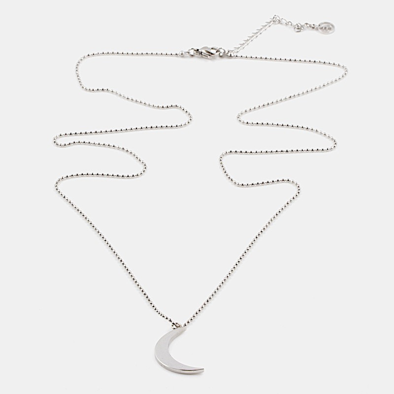 Yin Halsband 60cm Silver