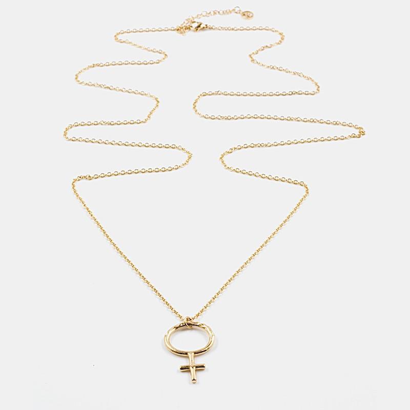 Venus Halsband 90cm Guld