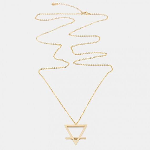 Earth Element Halsband 90cm Guld