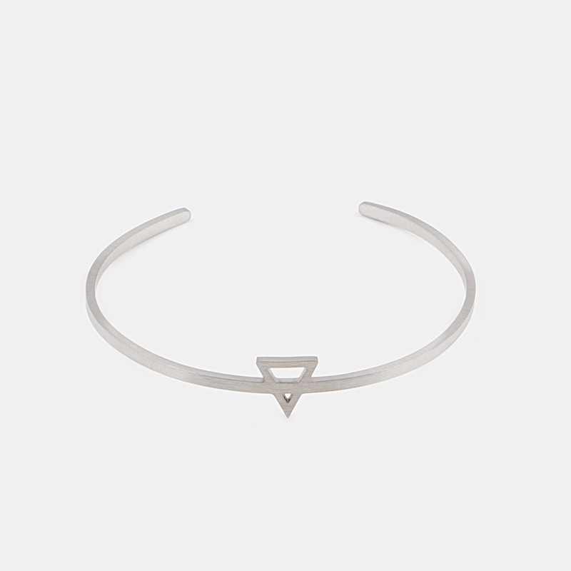 Earth Element Armband Silver