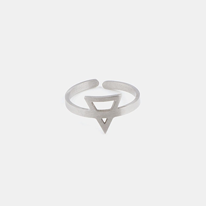 Earth Element Ring Silver