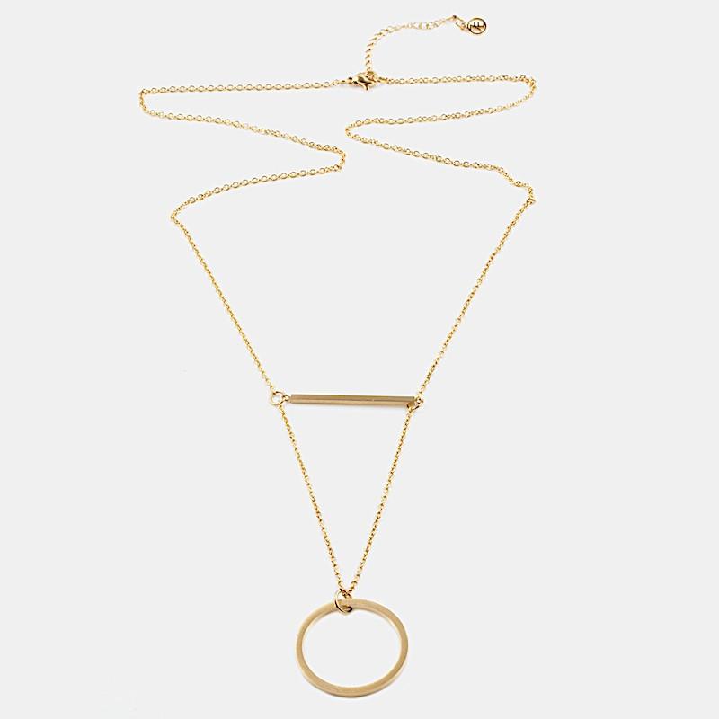 Verona Halsband 80cm Guld