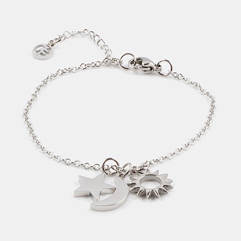 Heaven Armband Silver