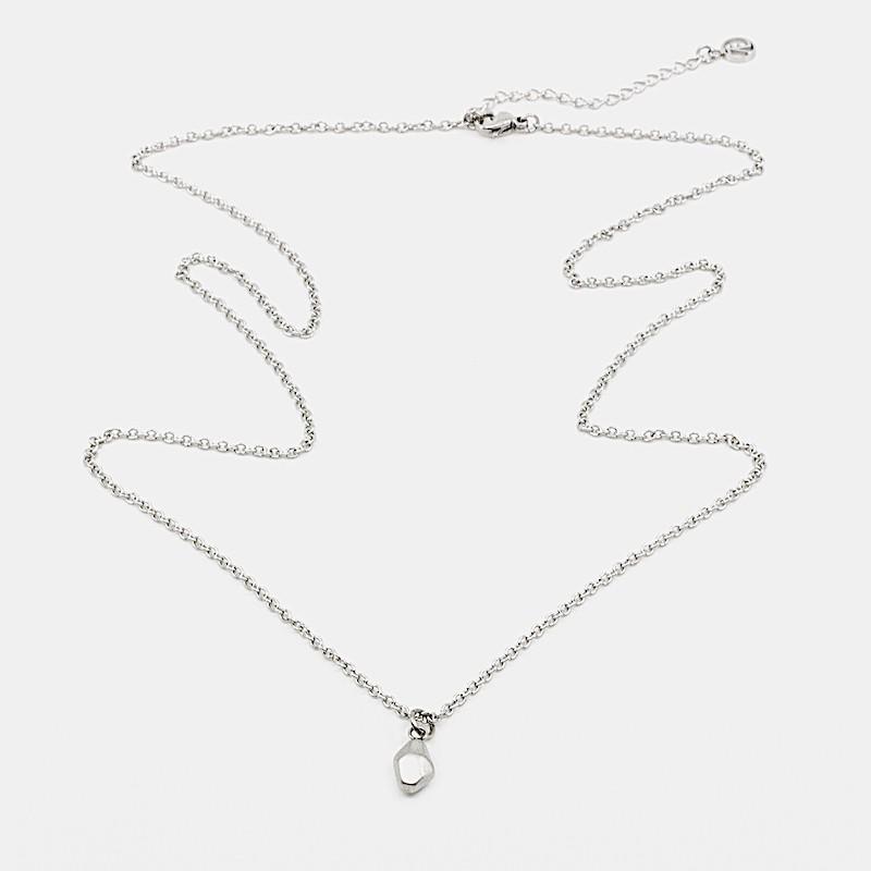 Rocky Halsband 60 cm Silver
