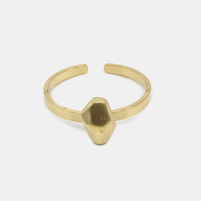 Rocky Ring Guld