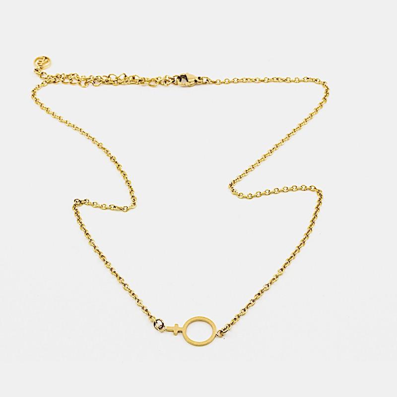 Female Halsband Guld