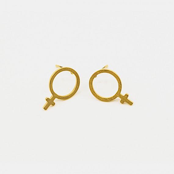 Female Örhänge Guld