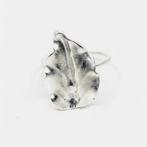 Kappa Ring Silver