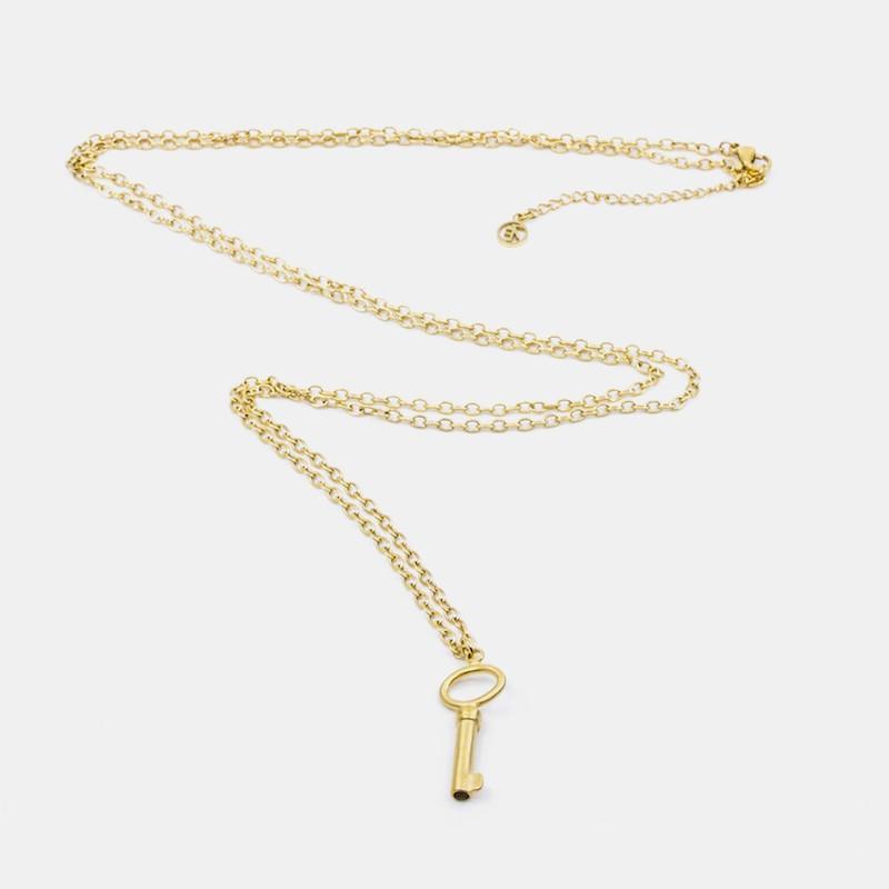 Big Key Halsband 90 Guld